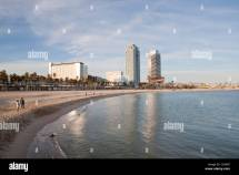 Mapfre Tower And Arts Hotel Barceloneta Beach