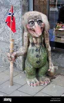 Norwegan Troll Souvenir Store Oslo County
