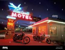 Blue Swallow Motel Route 66 Tucumcari Mexico