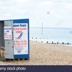 Chair Cover Hire West Sussex Kid Folding Chairs Deckchair For Stock Photos And