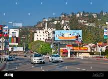 Sunset Boulevard Beverly Hills Los Angeles United States