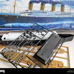 Titanic Boat Diagram 1973 Honda Ct70 Wiring Wreck Of The Stock Photos And