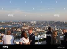 Turkey Istanbul Beyoglu Tnel District Terrace Of