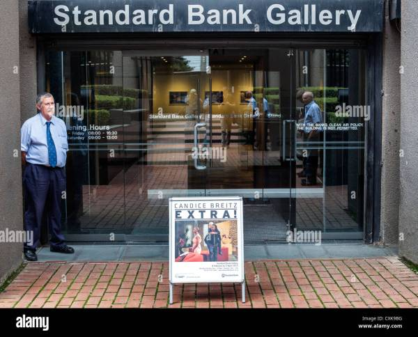 Entrance Of Standard Bank Art Johannesburg South Africa Stock 50826260 - Alamy