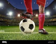 Legs Football Players Feet