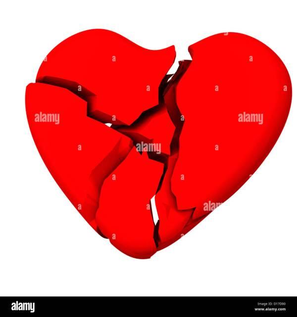 Broken Heart Shape Symbol Vtwctr