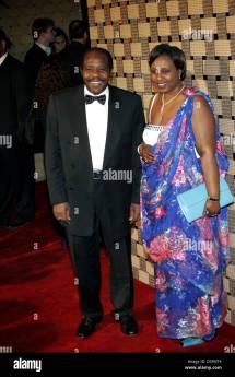 Paul Rusesabagina and His Wife