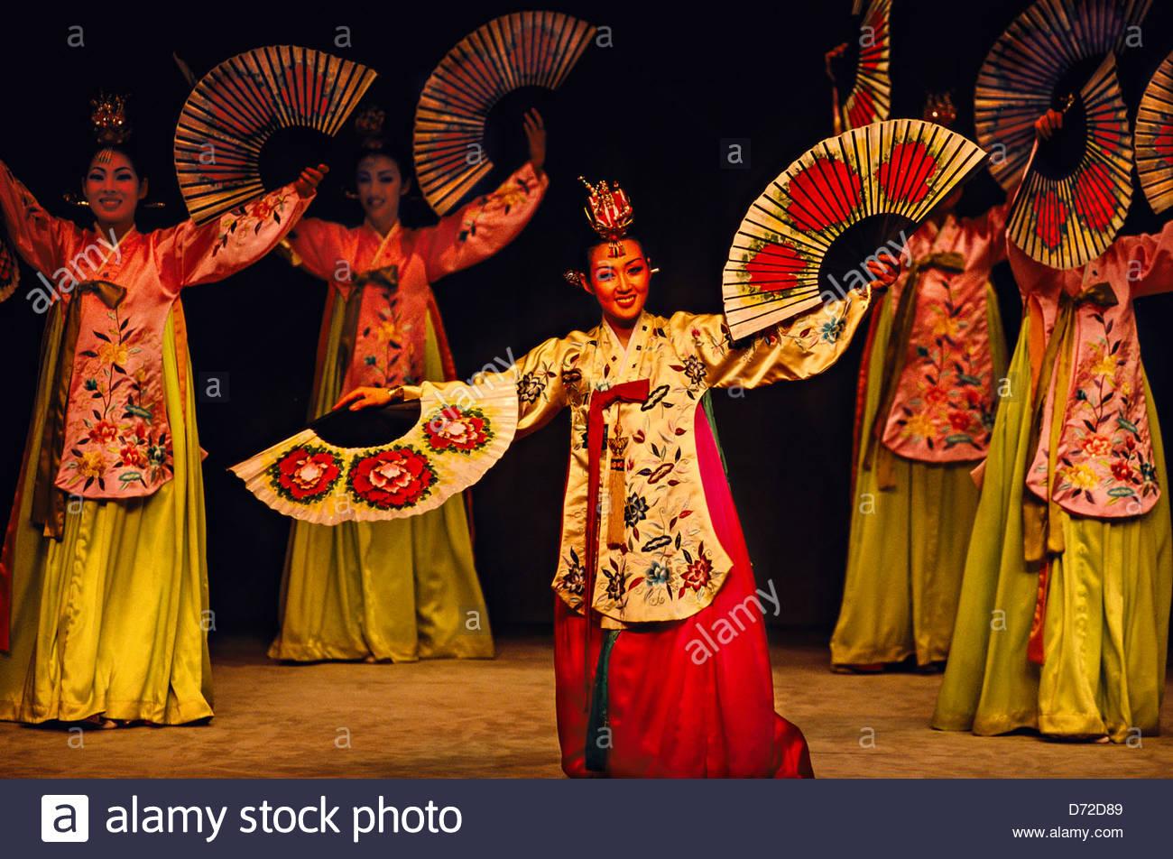 Korean traditional music and dance performance. Korea House. Seoul Stock Photo. Royalty Free Image: 55988025 - Alamy