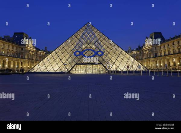 I.M. Pei Pyramid Louvre