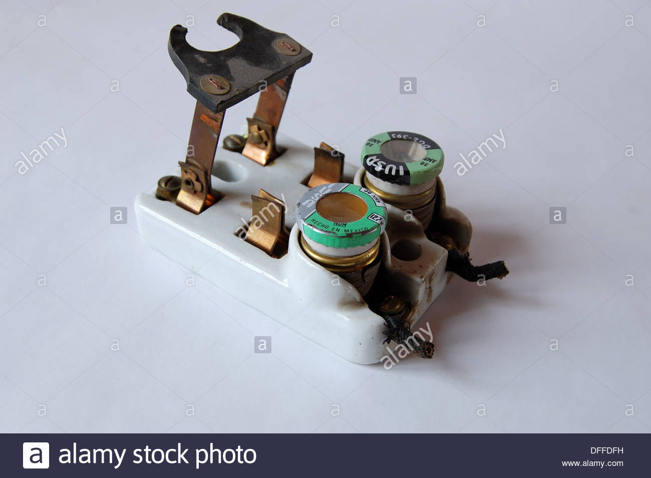 hight resolution of 1950s vintage ceramic fuse box electrical circuit breaker household fuse box residential popped fuse box fuse