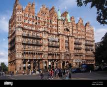 London Hotel Russell Stock Royalty Free
