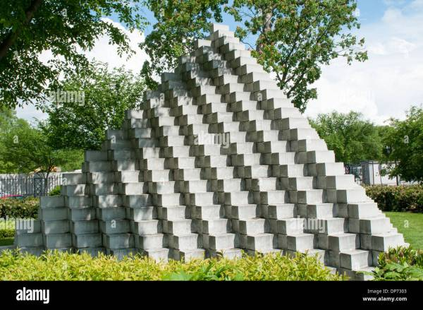 Four Sided Pyramid Sol Lewitt In National