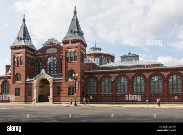 Exterior Of Arts And Industries Building Smithsonian