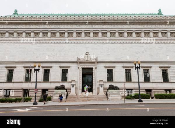 Corcoran Of Art - Washington Dc Usa Stock