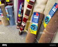Carpet offcuts for sale at discounted prices, England, UK