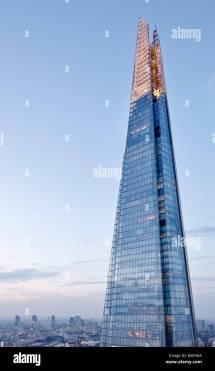 Shard London United Kingdom. Architect Renzo Piano