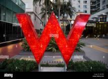 Hotel Sign Hollywood Blvd. California Usa