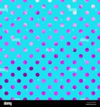 Teal Blue Pink Metallic Foil Polka Dot Pattern Swiss Dots ...