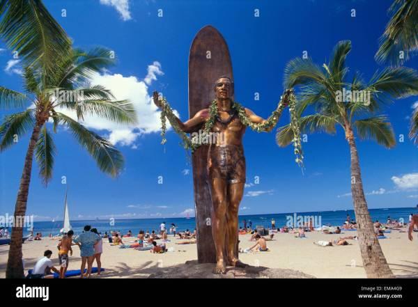 Hawaii Duke Kahanamoku - Year of Clean Water