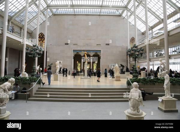 Metropolitan Museum Of York Stock
