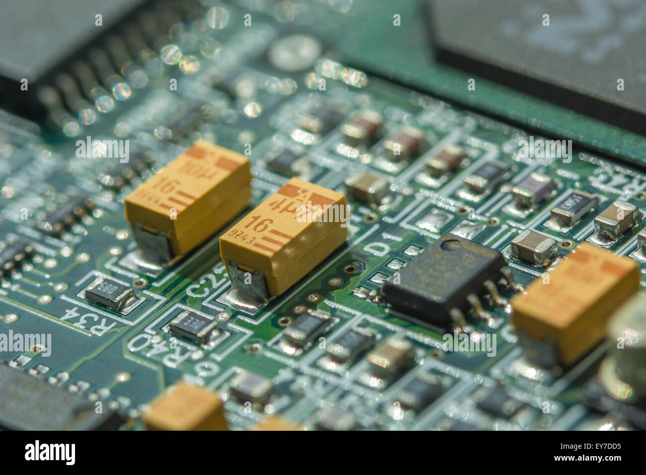 Soldering A Printed Circuit Board
