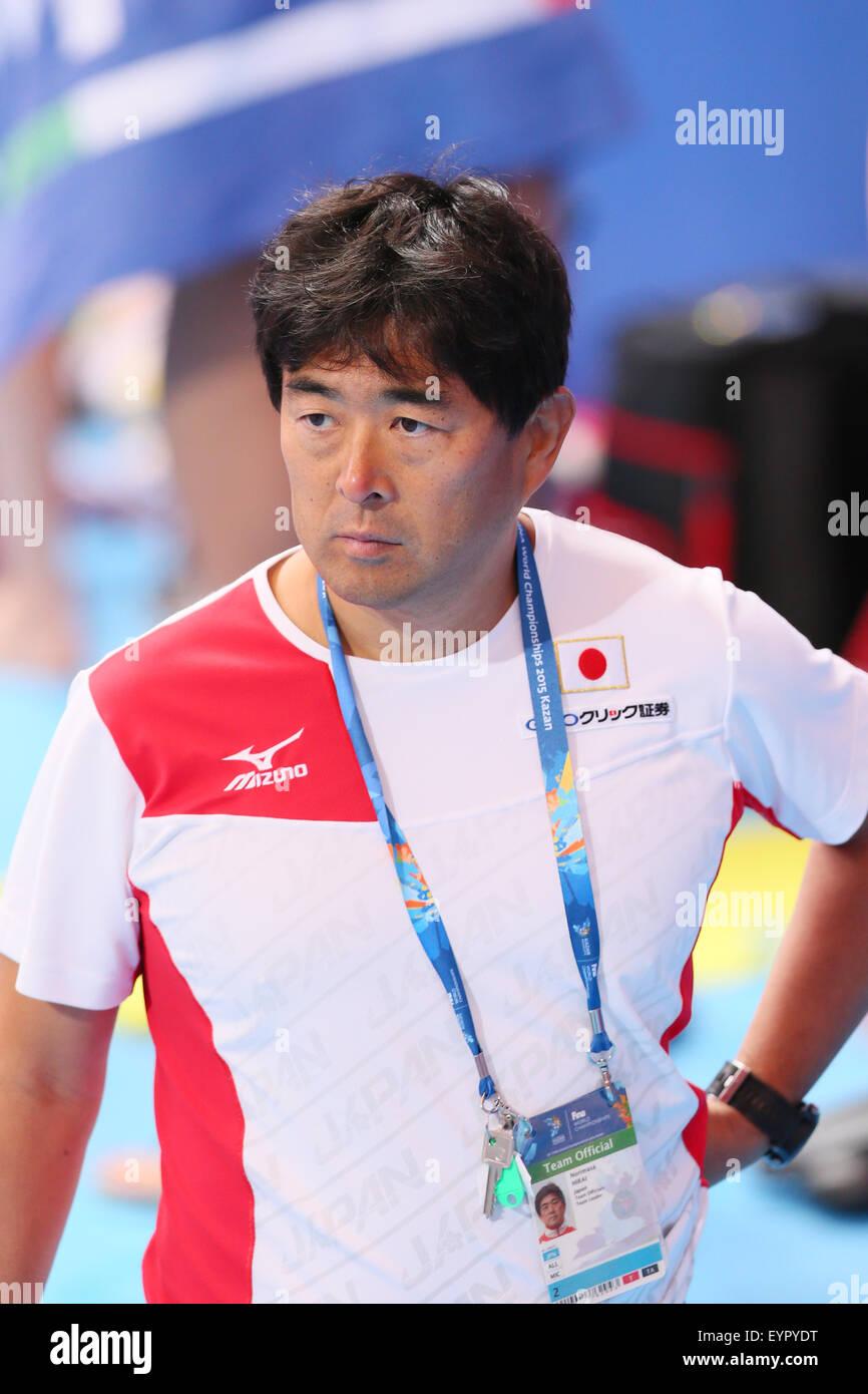 Kazan, Russia. 3rd Aug, 2015. Norimasa Hirai (JPN) Swimming : 16th FINA World Championships Kazan 2015 practice Stock Photo