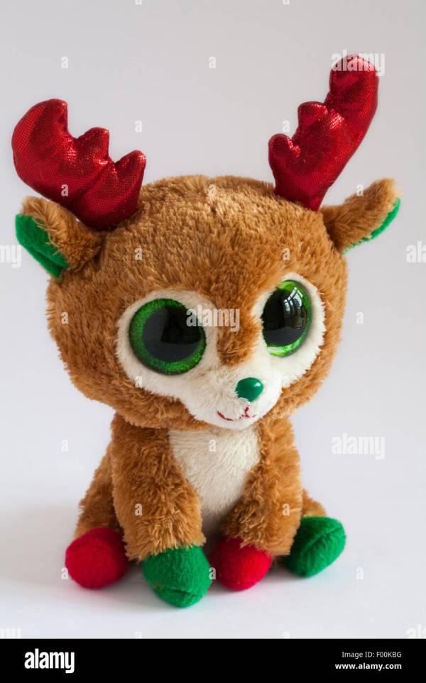 Christmas Beanie Boos Reindeer
