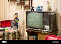 Vintage TV living room 70s Stock Photo, Royalty Free Image ...