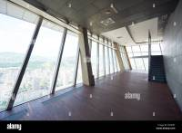 modern bright empty office or living room interior with