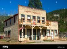 Hotel Albert Deborgia Montana Stock Royalty Free