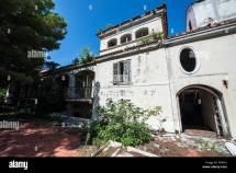 Abandoned Grand Hotel In Kupari Village Tourist Complex
