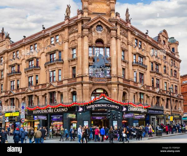 Hippodrome Casino Charing Cross Road Leicester Square London Stock Royalty Free