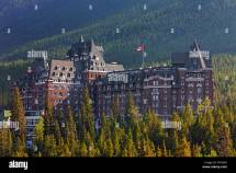 Banff Springs Hotel In Scottish Baronial Style