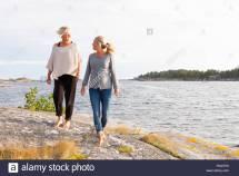 Sweden Sodermanland Vastra Stendorren Two Young Women