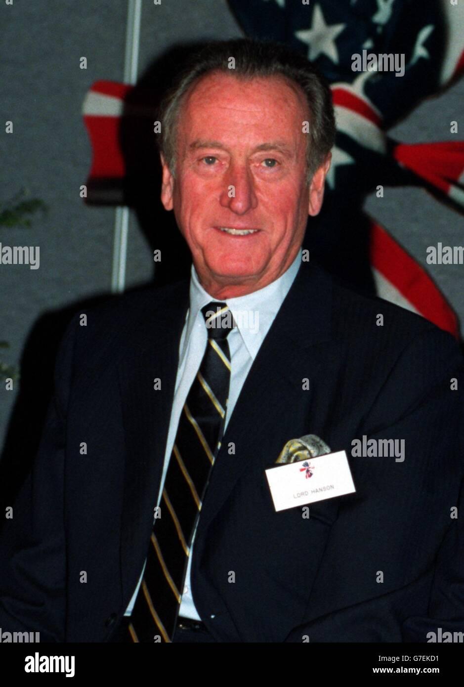 Lord Hanson Stock Photo