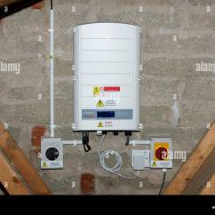 Solar Panel Wiring Diagram Uk Car Air Conditioning System Solaredge Inverter In A Domestic Installation
