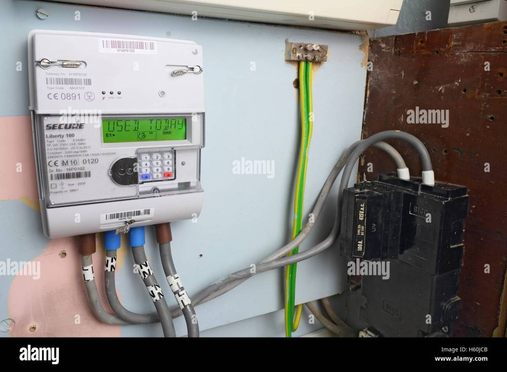 medium resolution of smart gas meter can be read remotely and supply real time information to the home owner