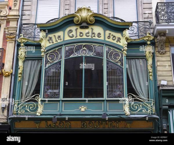 La Cloche ' Lille France. Jewelry Store. Art Deco