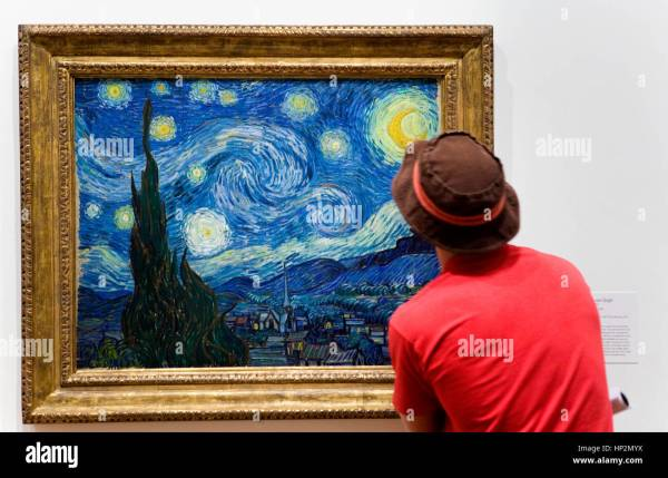 Moma Museum Of Modern Art . Starry Night; Vincent Van
