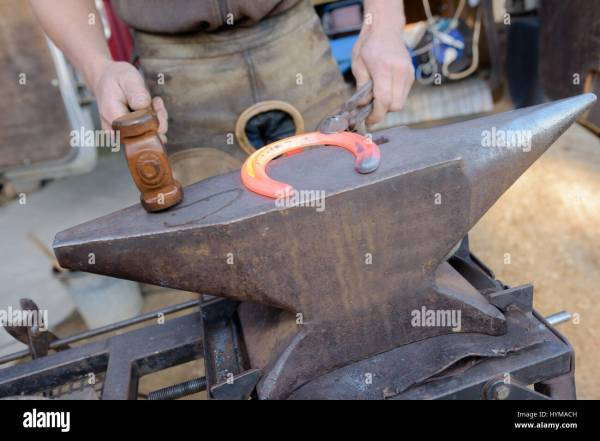 Horseshoe Farrier Anvil - Year of Clean Water