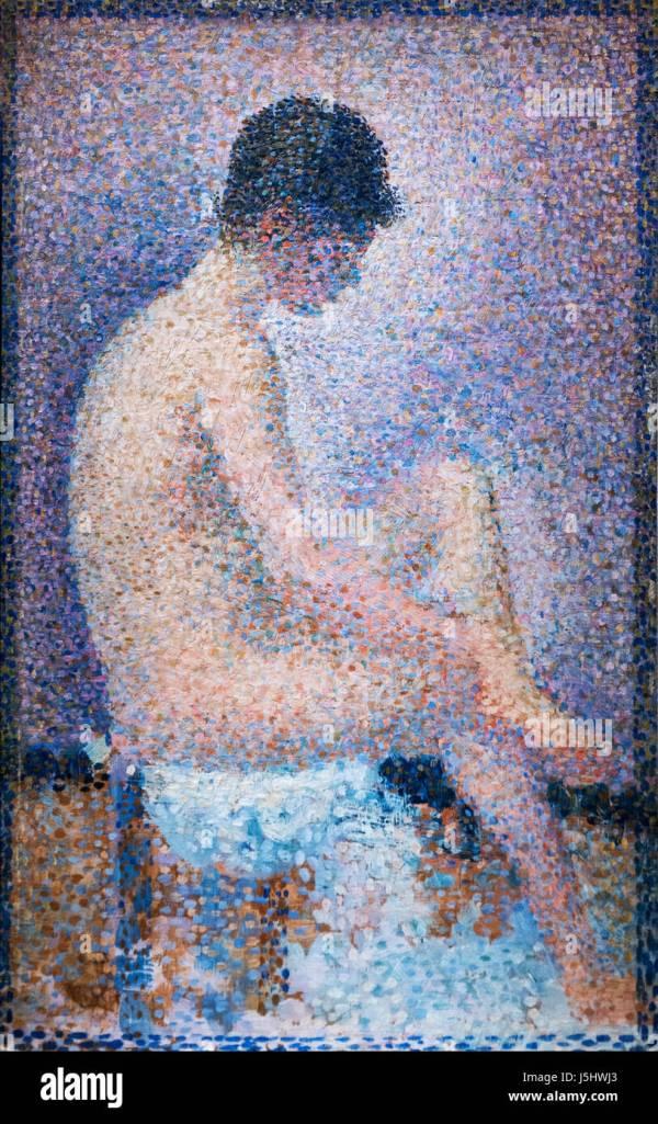Georges Seurat Pointillism Art