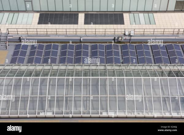 City Solar Panels Stock &