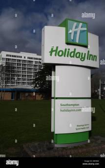 Holiday Inn Hotel Logo Stock &