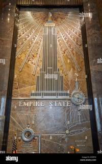 Empire State Building Interior Lobby Stock Photos & Empire ...