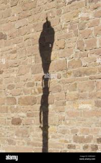 Old Street Lamp Shadow Stock Photos & Old Street Lamp ...