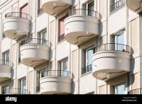 Modern Balcony Detail Stock Photos & Modern Balcony Detail ...