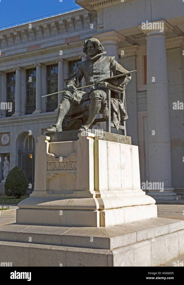 Del Prado Museum Sculptures