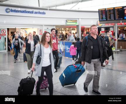 Image result for People arriving at airport