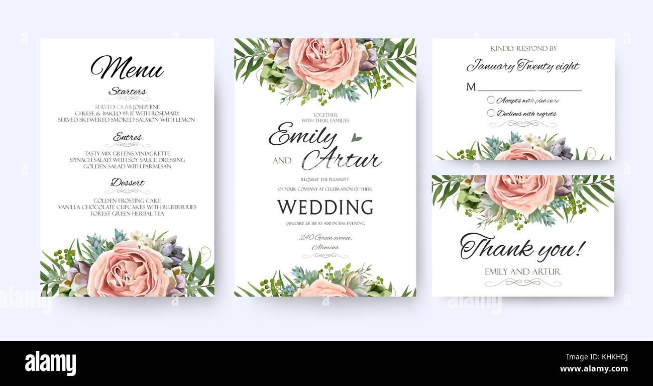 Wedding Announcement Design