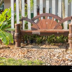 Swing Chair Thailand High Seat Chairs For The Elderly United States Backyard Tree Set Stock Photos And